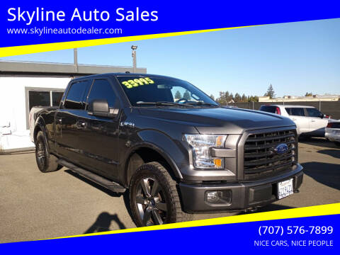 2016 Ford F-150 for sale at Skyline Auto Sales in Santa Rosa CA