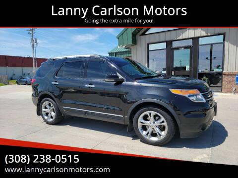 2012 Ford Explorer for sale at Lanny Carlson Motors in Kearney NE