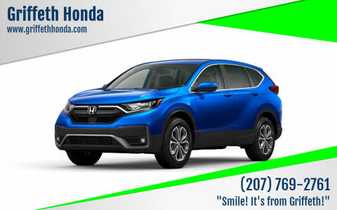 2020 Honda CR-V for sale at Griffeth Honda - Pre Owned in Presque Isle ME