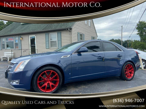 2009 Cadillac CTS for sale at International Motor Co. in Saint Charles MO