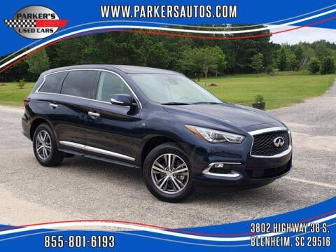 2020 Infiniti QX60 for sale at Parker's Used Cars in Blenheim SC
