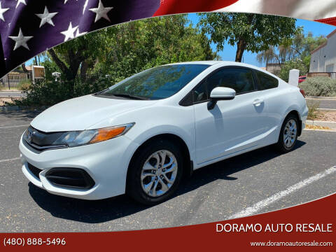2014 Honda Civic for sale at DORAMO AUTO RESALE in Glendale AZ