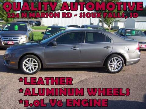 2011 Ford Fusion for sale at Quality Automotive in Sioux Falls SD