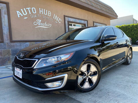 2013 Kia Optima Hybrid for sale at Auto Hub, Inc. in Anaheim CA