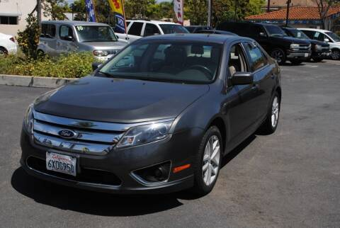 2012 Ford Fusion for sale at MIKE AHWAZI in Santa Ana CA