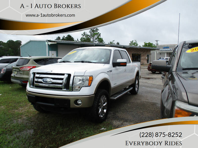 2011 Ford F-150 for sale at A - 1 Auto Brokers in Ocean Springs MS