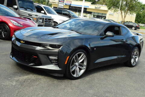 2018 Chevrolet Camaro for sale at Automall Collection in Peabody MA