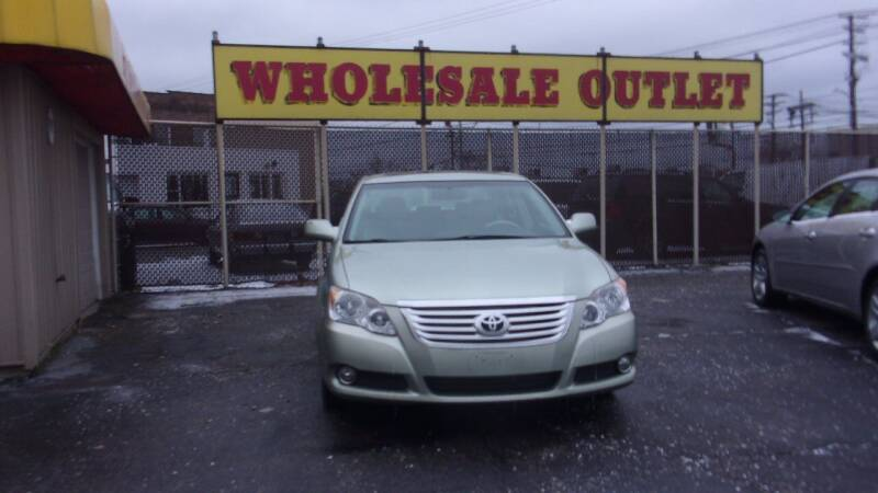 2008 Toyota Avalon for sale at LONG BROTHERS CAR COMPANY in Cleveland OH