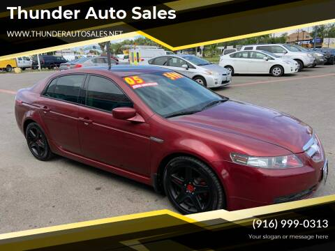 2005 Acura TL for sale at Thunder Auto Sales in Sacramento CA