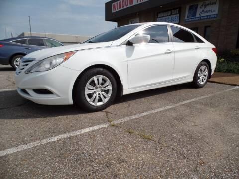 2011 Hyundai Sonata for sale at Flywheel Motors, llc. in Olive Branch MS