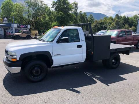 2002 Chevrolet Silverado 3500 for sale at 3 BOYS CLASSIC TOWING and Auto Sales in Grants Pass OR