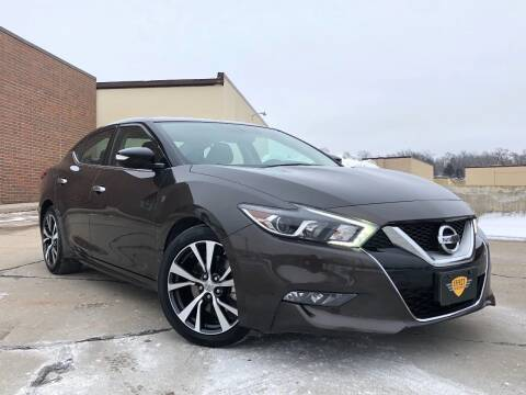 2017 Nissan Maxima for sale at Effect Auto Center in Omaha NE