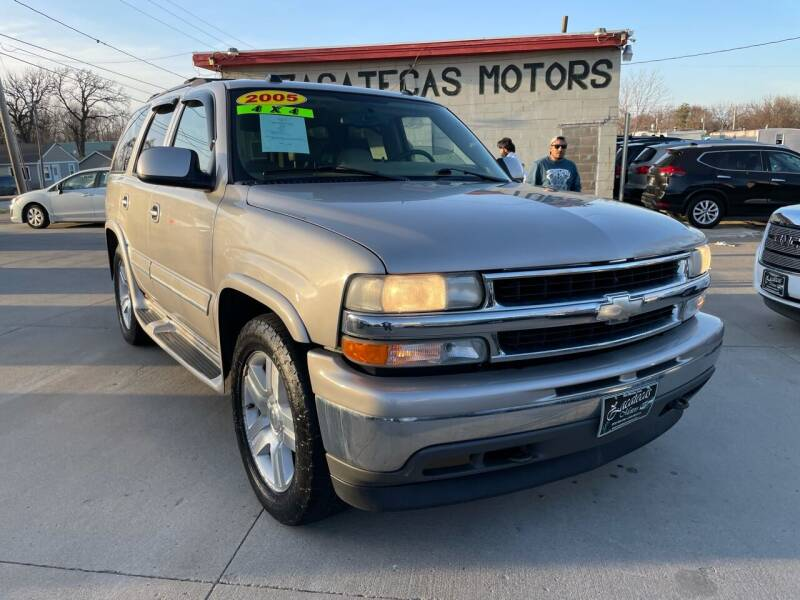 2005 Chevrolet Tahoe for sale at Zacatecas Motors Corp in Des Moines IA