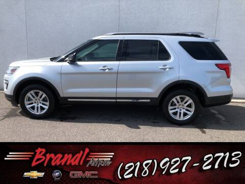 2018 Ford Explorer for sale at Brandl GM in Aitkin MN