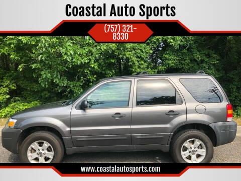 2006 Ford Escape for sale at Coastal Auto Sports in Chesapeake VA