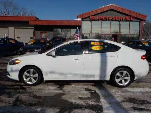 2015 Dodge Dart for sale at Super Service Used Cars in Milwaukee WI