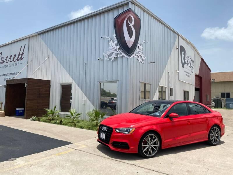 2016 Audi S3 for sale at Barrett Auto Gallery in San Juan TX