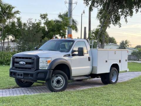 2012 Ford F-450 Super Duty for sale at Citywide Auto Group LLC in Pompano Beach FL