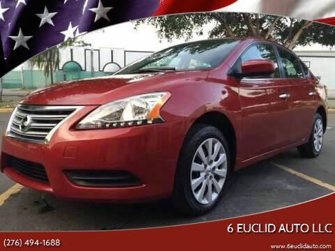 2014 Nissan Sentra for sale at 6 Euclid Auto LLC in Bristol VA