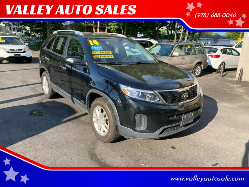 2014 Kia Sorento for sale at VALLEY AUTO SALES in Methuen MA