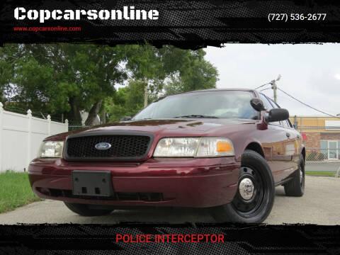 2009 Ford Crown Victoria for sale at Copcarsonline in Largo FL