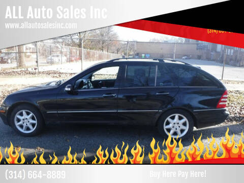 2003 Mercedes-Benz C-Class for sale at ALL Auto Sales Inc in Saint Louis MO