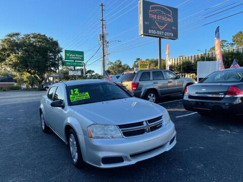 2012 Dodge Avenger for sale at The Strong St. Moses Auto Sales LLC in Tallahassee FL