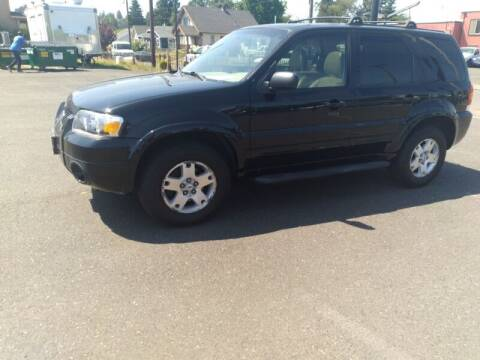 2006 Ford Escape for sale at Cars & Trailers in Portland OR