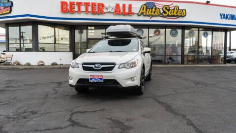 2014 Subaru XV Crosstrek for sale at Better All Auto Sales in Yakima WA