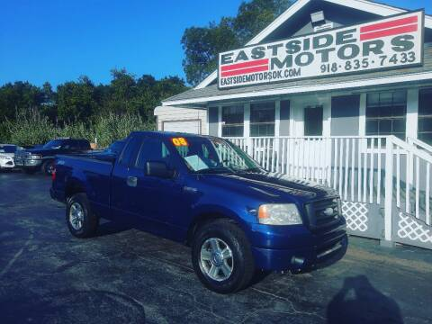 2008 Ford F-150 for sale at EASTSIDE MOTORS in Tulsa OK