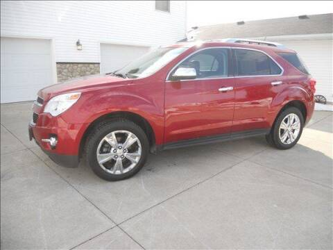 2013 Chevrolet Equinox for sale at OLSON AUTO EXCHANGE LLC in Stoughton WI
