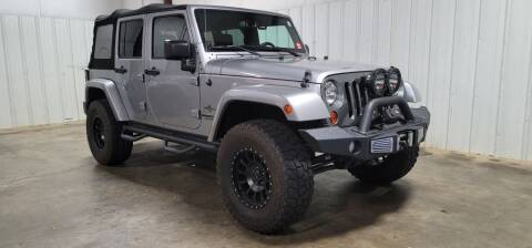 2013 Jeep Wrangler Unlimited for sale at Matt Jones Motorsports in Cartersville GA