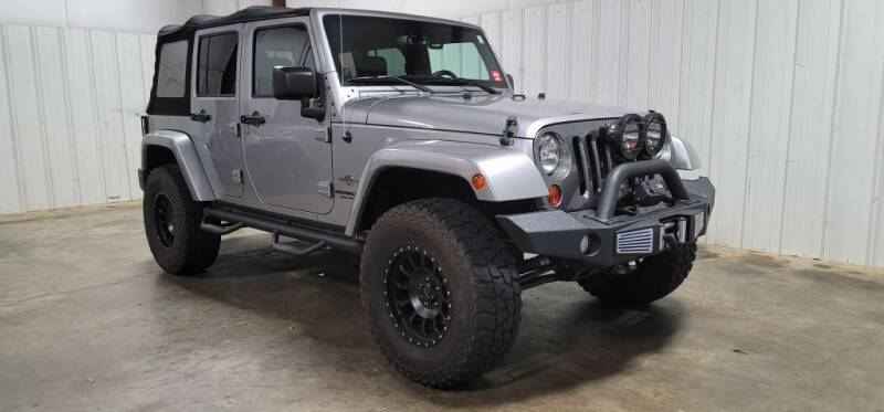 2013 Jeep Wrangler Unlimited for sale at Matt Jones Motorsports in Cartersville GA
