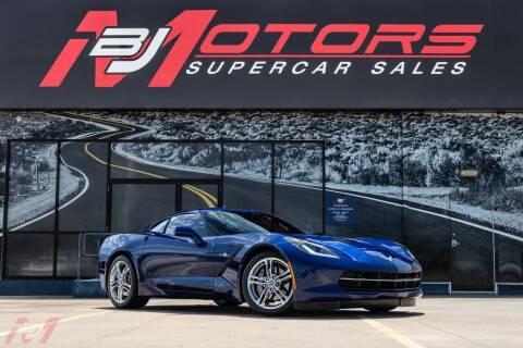 2017 Chevrolet Corvette for sale at BJ Motors in Tomball TX