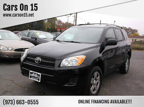 2011 Toyota RAV4 for sale at Cars On 15 in Lake Hopatcong NJ