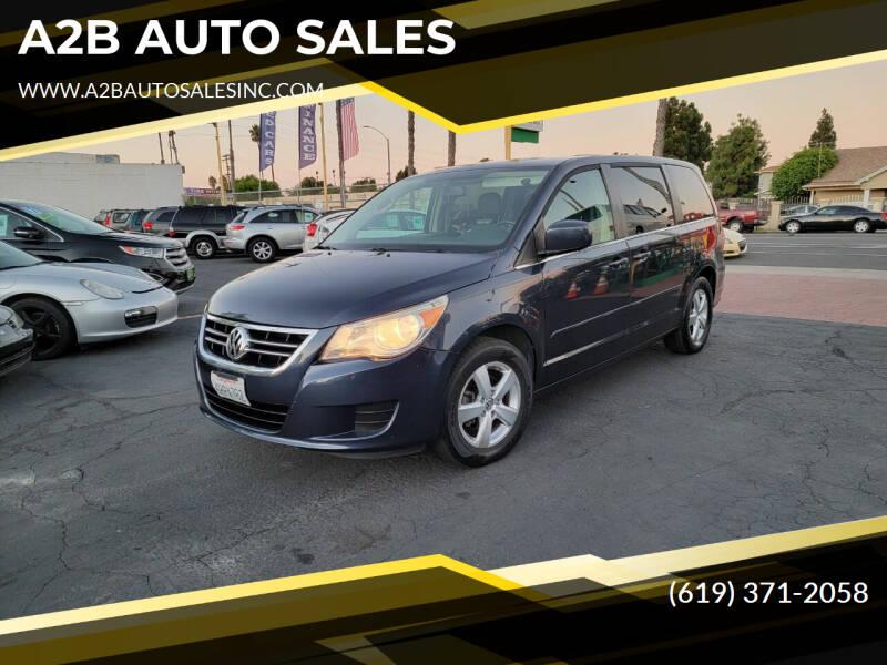 2009 Volkswagen Routan for sale at A2B AUTO SALES in Chula Vista CA