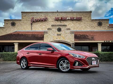 2018 Hyundai Sonata for sale at Jerrys Auto Sales in San Benito TX