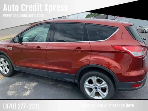 2014 Ford Escape for sale at Auto Credit Xpress - Jonesboro in Jonesboro AR