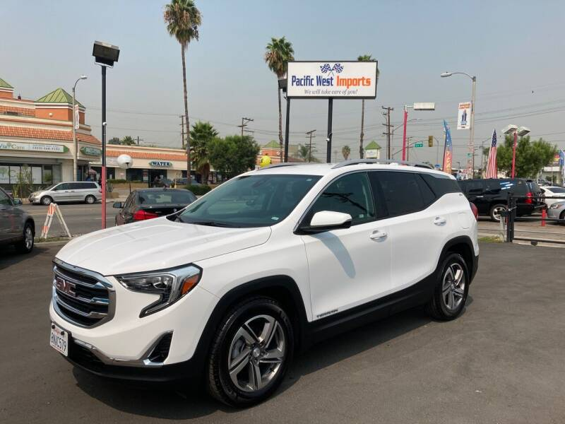 2020 GMC Terrain for sale at Pacific West Imports in Los Angeles CA