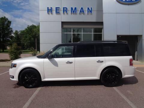 2018 Ford Flex for sale at Herman Motors in Luverne MN