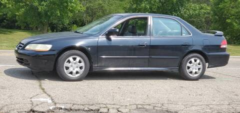 2002 Honda Accord for sale at Superior Auto Sales in Miamisburg OH