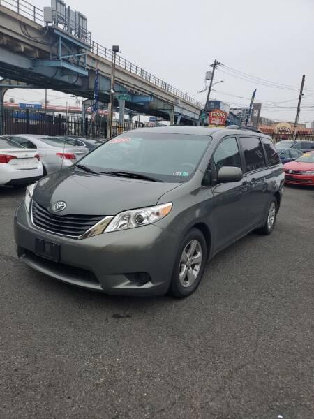 2014 Toyota Sienna for sale at Key & V Auto Sales in Philadelphia PA