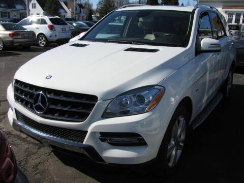 2012 Mercedes-Benz M-Class for sale at CLASSIC MOTOR CARS in West Allis WI