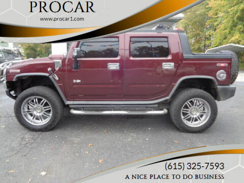 2006 HUMMER H2 SUT for sale at PROCAR LLC in Portland TN