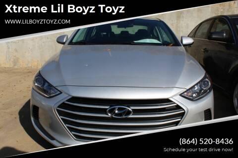 2018 Hyundai Elantra for sale at Xtreme Lil Boyz Toyz in Greenville SC
