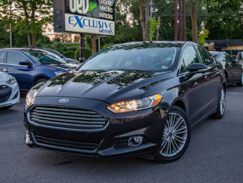 2014 Ford Fusion for sale at EXCLUSIVE MOTORS in Virginia Beach VA