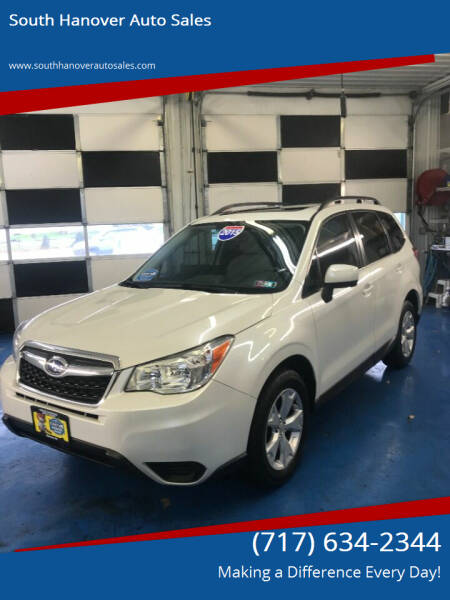 2015 Subaru Forester for sale at South Hanover Auto Sales in Hanover PA