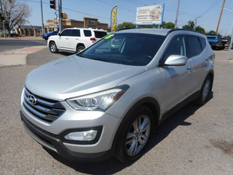 2013 Hyundai Santa Fe Sport for sale at AUGE'S SALES AND SERVICE in Belen NM