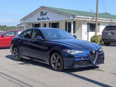 2017 Alfa Romeo Giulia for sale at Best Used Cars Inc in Mount Olive NC