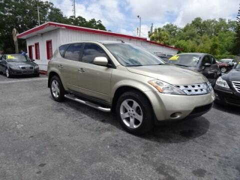 2005 Nissan Murano for sale at DONNY MILLS AUTO SALES in Largo FL